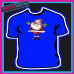 SANTA CLAUS FATHER CHRISTMAS TSHIRT CHILDRENS MENS & LADIES SIZES - 160883623039